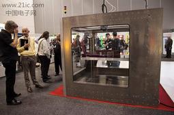 """巨型3D打印机""""猛犸""""亮相巡展"""