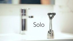 极简风剃刀架:Solo