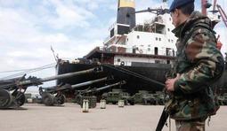 黎巴嫩接收大批美援二手重型火炮
