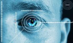 富士通展示了虹膜识别技术的智能手机