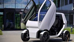 可变形及横向行驶的智能互联汽车
