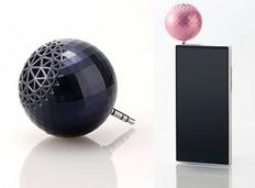 乒乓球大小的便携式扬声器,让你的手机摇身变为立体音响