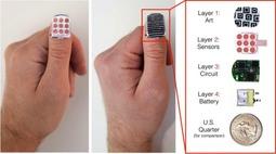 """控制电脑手机 摸摸""""指甲盖""""也可以"""