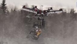 危险的玩具:无线电遥控链锯可空中斩首雪人