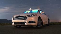 福特进行难度更大的夜间自动驾驶测试