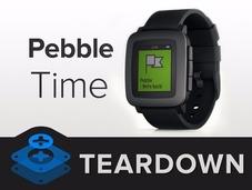 比苹果表续航久 Pebble Time智能手表拆解