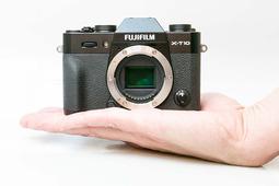 复古微单相机 富士X-T10真机图集