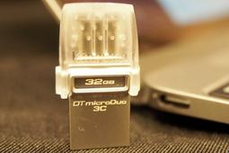 金士顿microDuo 3 USB-C接口双头U盘体验