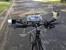 带超声测距装置的自行车