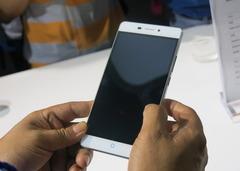 中兴威武3手机现场实拍:金属机身指纹识别