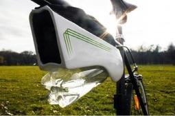 骑车有水喝 它能将空气中的水分转化成饮用水