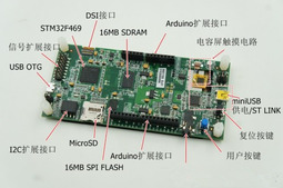 STM32F469 Discovery开发板
