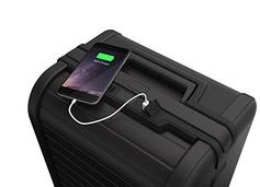 TRUNKSTER智能行李箱: 移动电源 + GPS +称重系统