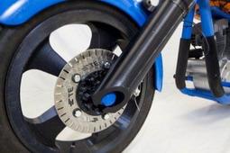 全球首辆3D打印摩托车