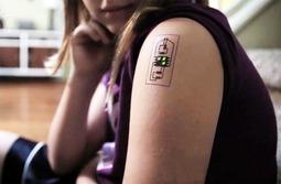 """纹在身上的电路板,让电子设备""""融进""""皮肤!"""