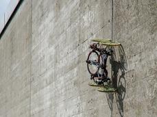 可以攀爬墙壁的机器人Vertigo