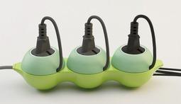豌豆荚插座,不但颜值高,还可以收纳电线