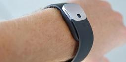 微软智能手环试戴