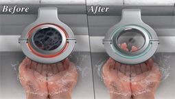 可视化细菌水龙头