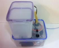 用丙酮和空气加湿器DIY超声波3D打印抛光机