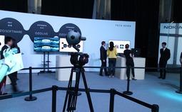 诺基亚ZOZ虚拟现实摄像机现场实拍