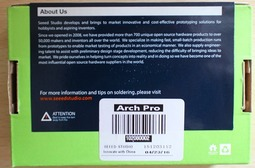 Mbed LPC1768的升级版――Seeed Arch Pro评测