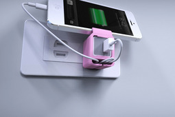 戴上套套的iPhone充电器,更安全更放心