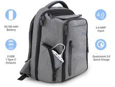 出门到处找电源的你,一定喜欢这款充电背包