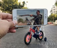 iPhone还能这样玩 摄影师的脑洞到底有多大