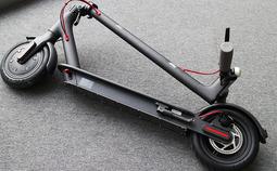拥有双刹系统 小米米家智能滑板车图赏