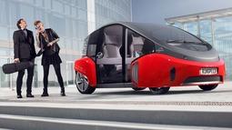 Rinspeed Oasis自动驾驶电动概念车