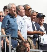 三缺一不带玩?3位美国前总统相约打高尔夫
