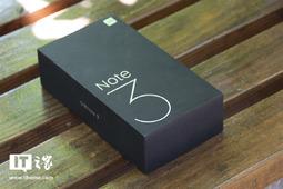小米Note 3手机开箱图赏:大哥的身材,小弟的心