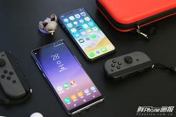 无敌寂寞:三星Note8对比iPhone X图赏