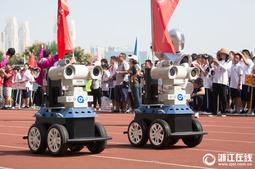 杭州一初中运动会开幕式