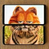 手机画面与现实的巧妙拼合 无厘头的搞笑画面