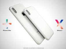 iPhone X Plus长什么样?网友制作概念图