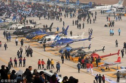 世界飞行者大会700余架飞行器亮相
