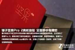 锤子坚果Pro 2真机体验 全面屏中有秘密