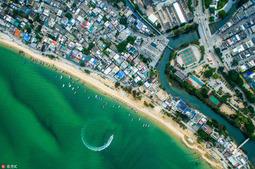 航拍深圳东部海岸线 风景如此秀美