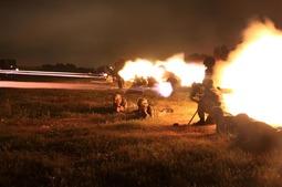 老兵不老 PF-98火箭筒亮相火力打击演习现场