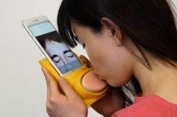 可以与爱人远距离接吻的智能手机