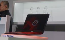 三星发布首款游戏笔记本Odyssey现场图赏