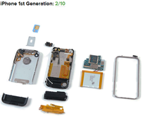 回顾15款iPhone拆解历程 初代最难修