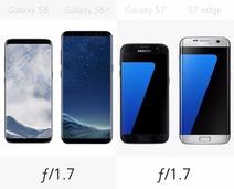 最全面的PK 三星S8/S8+/S7/S7 edge对比