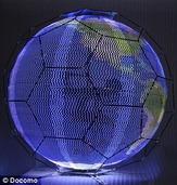 会飞的圆球形屏幕:在空中显示广告