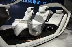 车展上除了豪车还有未来的新技术