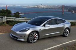 特斯拉Model 3最新谍照曝光 或7月投产