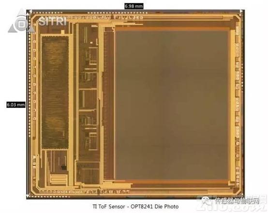 拆解对比OPT8241和VL53L0X:TI和ST的ToF传感器工艺有何大不同