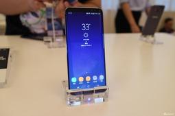 心动了吗 三星Galaxy S8国行版现场实拍